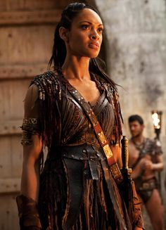 Lykopis, Libyan Amazon, captain of guards at the Fountain of the Sun [Cynthia Addai-Robinson]