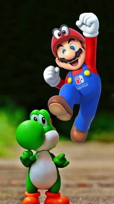 mario and yoshi wallpaper by dathys - - Free on ZEDGE™