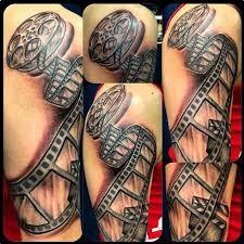 """Képtalálat a következőre: """"film reel tattoo"""""""