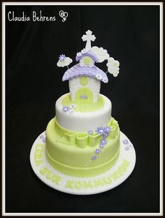 comunion cake lara - claudia behrens by Claudia Behrens ~ Cakes, via Flickr