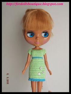 Ropa para Blythe: vestido de mamimonster por DaWanda.com