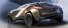 2025 Lexus E Crossover WIP on Behance