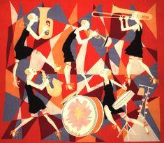 Jazz scene by john held jr.