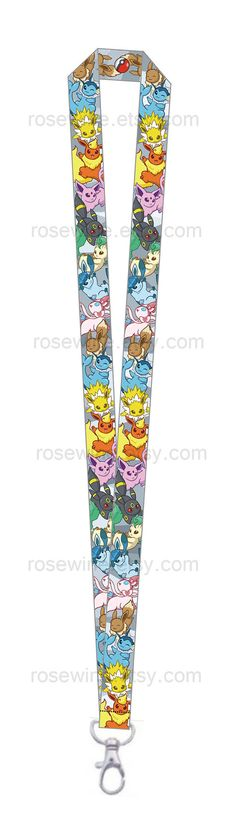 Hey, I found this really awesome Etsy listing at https://www.etsy.com/listing/156274704/pokemon-eeveelution-lanyard