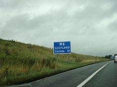Driving to Scotland