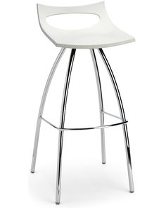 The Diablito barstool is classic in appearance - featuring a polypropylene seat with a chrome steel frame. Made in Italy by SCAB Design - Cintesi is the exclusive agent in New Zealand for SCAB Design products.
