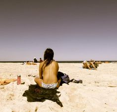 Bondi Beach, Sydney in the . The southern end was an unofficial topless beach. Before concerns about skin cancer and premature aging caused by sun damage Bondi Beach Australia, Sydney Australia, New Zealand, Cancer, Southern, Sun, Summer, Baby, Travel