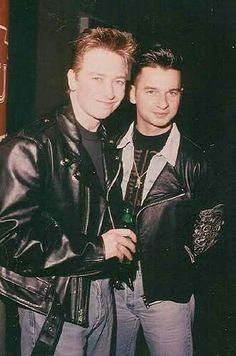 Alan Wilder & Dave gahan