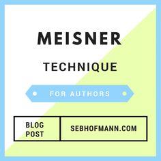 Meisner-Technik für Autoren — Steemit Meisner Technique, Storytelling, Blog, Authors, Blogging