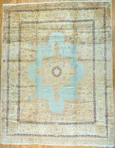 """Kerman Persian Rug - 14' 3"""" x 18' 0"""" $8,395.00"""