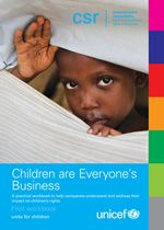 UNICEF releases a workbook to help businesses respect and support children's rights