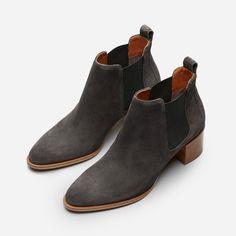The Suede Heel Boot
