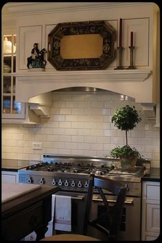 The Old Painted Cottage Unique Goods and Curious Finds Kitchen Vent Hood, Open Plan Kitchen, New Kitchen, Kitchen Ideas, Farmhouse Kitchen Island, Farmhouse Kitchens, Farmhouse Style, English Country Kitchens, Farmhouse Living Room Furniture