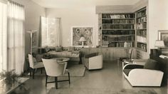 Franton Court living room/library