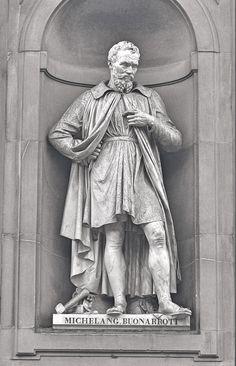 Michelangelo Buonarroti Italian Renaissance Sculptor, Painter, Architect, and Poet 1475 - 1564 Michelangelo Sculpture, Art Ninja, Italian Sculptors, Italian Painters, Renaissance Art, Western Art, Zbrush, Art And Architecture, Great Artists