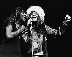 Janis Joplin and Tina Turner by Amalie R.Rotschild - Madison Square Garden 1969