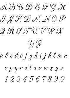 alfabeto italiano corsivo - Cerca con Google