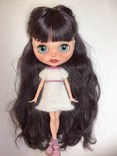 OOAK Custom Blythe Doll named ShaBlue by EmmyB.lythe by EmmyBlythe