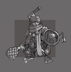 Halfling Adventurer by cwalton73.deviantart.com on @DeviantArt