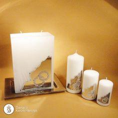 Verzierwachs zum Verzieren von Kerzen und Festtagskerzen Pillar Candles, Candles, Weddings, Wax, Embellishments, Christmas