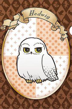 Même Hedwige et Buck sont de la partie. Ils sont pas mignons?!   Les personnages d'Harry Potter ont une version animé juste parfaite