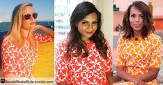 Buy Reese Witherspoon, Mindy Kaling, and Kerry Washington's Pinwheel Print Shirts, here!