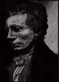 Barry Moser - Portrait of John Keats   R. Michelson Galleries