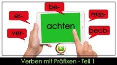 """Kennst du schon alle Präfixe von """"achten""""? Bedeutung und Beispiele für """"achten"""" mit allen Präfixen + Bedeutung verwandter Substantive und Adjektive!"""