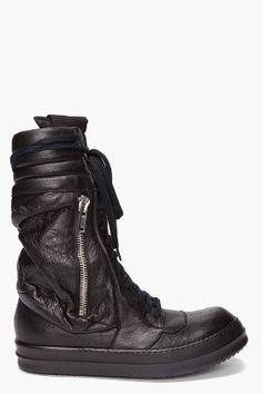 Cargo Basket Boots, Rick Owens.