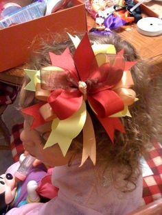 Cutest little girls hair bows EVER!@ http://www.pinterestbest.net/Dunkin-Donuts-500-Gift-Card