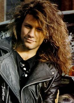 Jon Bon Jovi back in the day.