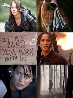 Katniss Everdeen / Jennifer Lawrence / The Hunger Games
