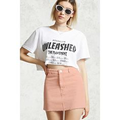 Forever21 Corduroy Mini Skirt ($16) ❤ liked on Polyvore featuring skirts, mini skirts, dusty pink, short skirts, full length skirt, forever 21 skirts, full length white skirt and zipper mini skirt