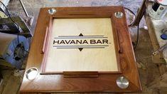Havana Bar, Domino Table, Drink Holder, Carnivals, Orlando Florida, Epoxy, Cruise, Surface, Ship