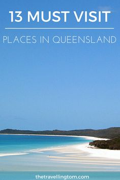 As one of the biggest states in Australia, there's plenty of great places to visit in Queensland.  From Brisbane to the Gold Coast, and Cairns and the Whitsundays in the North. There's an abundance of things to do in Queensland!  If you're planning to visit Queensland, check out my guide to some of the best places to see!  Queensland travel | where to go in Queensland | where to stay in Queensland | Queensland, Australia | #queensland #australia