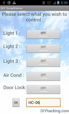 DIY Android Home Automation