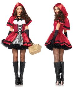 halloween costumes for women sexy cosplay little red riding hood fantasy game uniforms fancy dress outfit Girl Costumes, Adult Costumes, Costumes For Women, Cosplay Costumes, Halloween Kostüm, Halloween Cosplay, Halloween Costumes, Women Halloween, Halloween Carnival