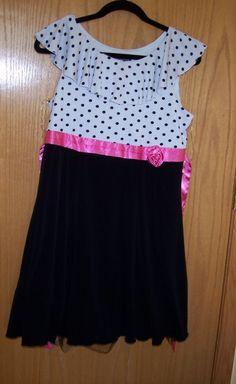 Disorderly kids dresses plus size
