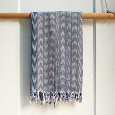 vintage ikat scarf