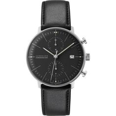 Junghans Max Bill Chronoscape Watch | Milanese | Black | White