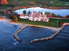 Katharine Hepburn's Waterfront Connecticut Estate