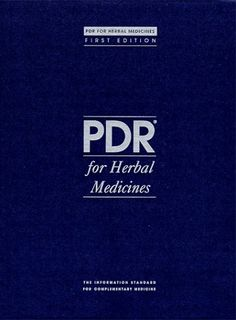 PDR for Herbal Medicines Physicians Desk Reference for Herbal Medicines ** BEST VALUE BUY on Amazon #HerbalRemedies