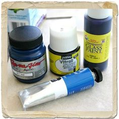 using different products to dye resin