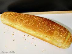 Σπιτικό ψωμί με σουσάμι σε φόρμα