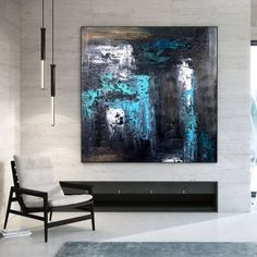Extra Large Wall Art Abstract Painting Bedroom Decor image 1 Large Painting, Oil Painting On Canvas, Canvas Paintings, Original Paintings, Original Art, Large Wall Canvas, Extra Large Wall Art, Abstract Canvas Art, Abstract Paintings