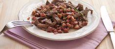 Maltagliati di manzo al vino rosso e pancetta affumicata | Ricette della Nonna