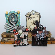 By Laurie Davis for the Retro Café Art Gallery 2014 Tombstone Art Swap! www.RetroCafeArt.com