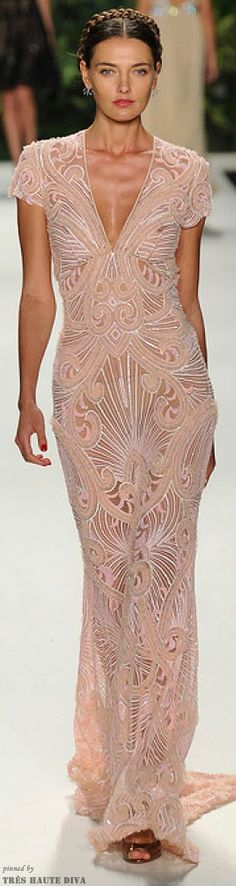(Naeem Khan, Spring 2014, New York Fashion Week)