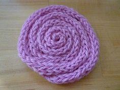 Espiral de tricotín  via Flickr