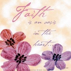 Now faith is being sure of what we hope for and certain of what we do not see.  Hebrews 11:1 NIV